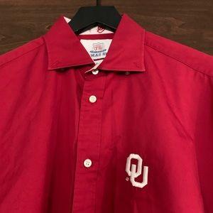 Thomas Dean Shirts - Thomas Dean OU Dress shirt - Size M
